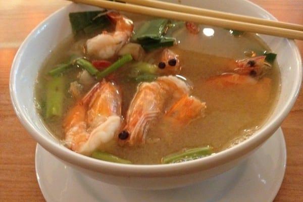 Tom Yum Goong (supa iute creveti)