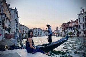 Venetia cu sau fara masca