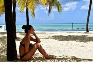 Relatia cu lotiunea de plaja