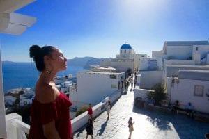 Santorini, dragoste la prima vedere